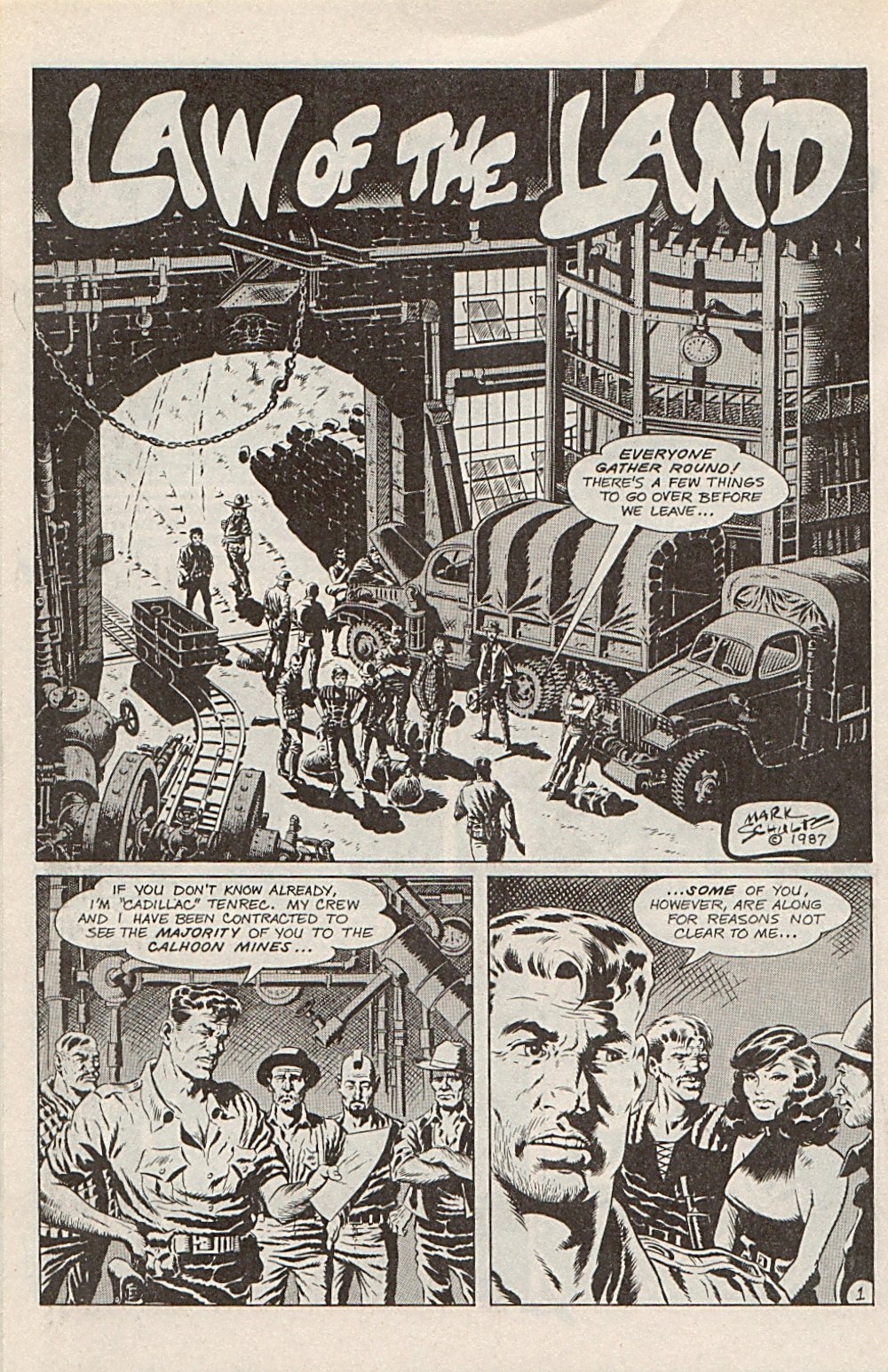 Read online Xenozoic Tales comic -  Issue #1 - 25