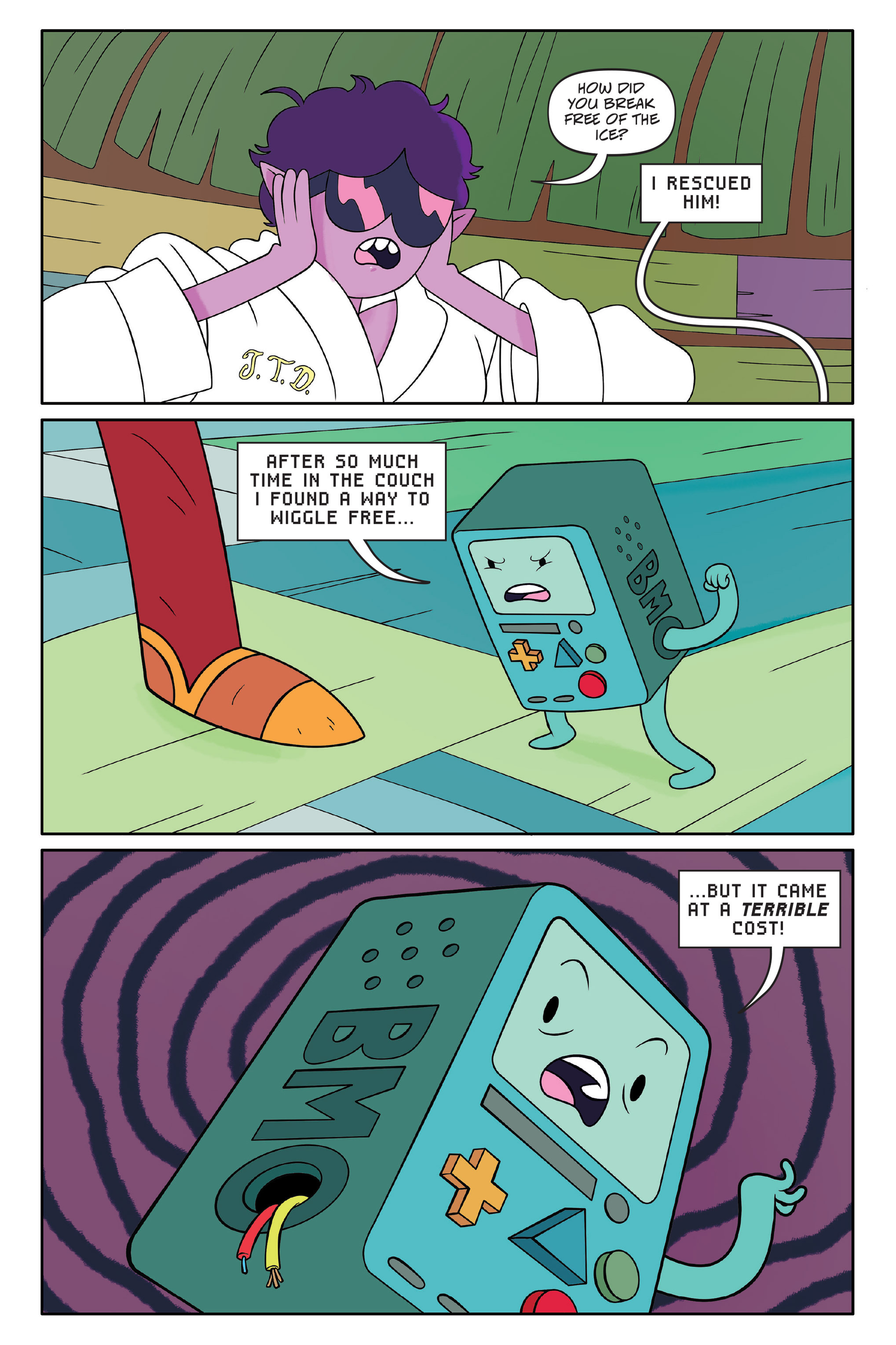Read online Adventure Time comic -  Issue #Adventure Time _TPB 7 - 127