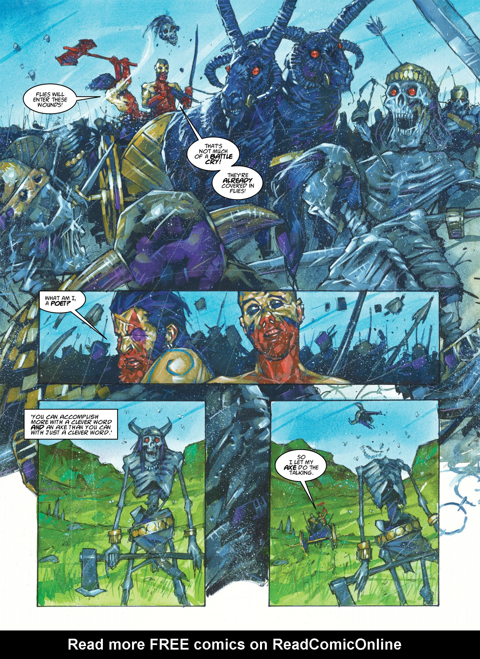 Read online 2000 AD comic -  Issue #1983 - 13