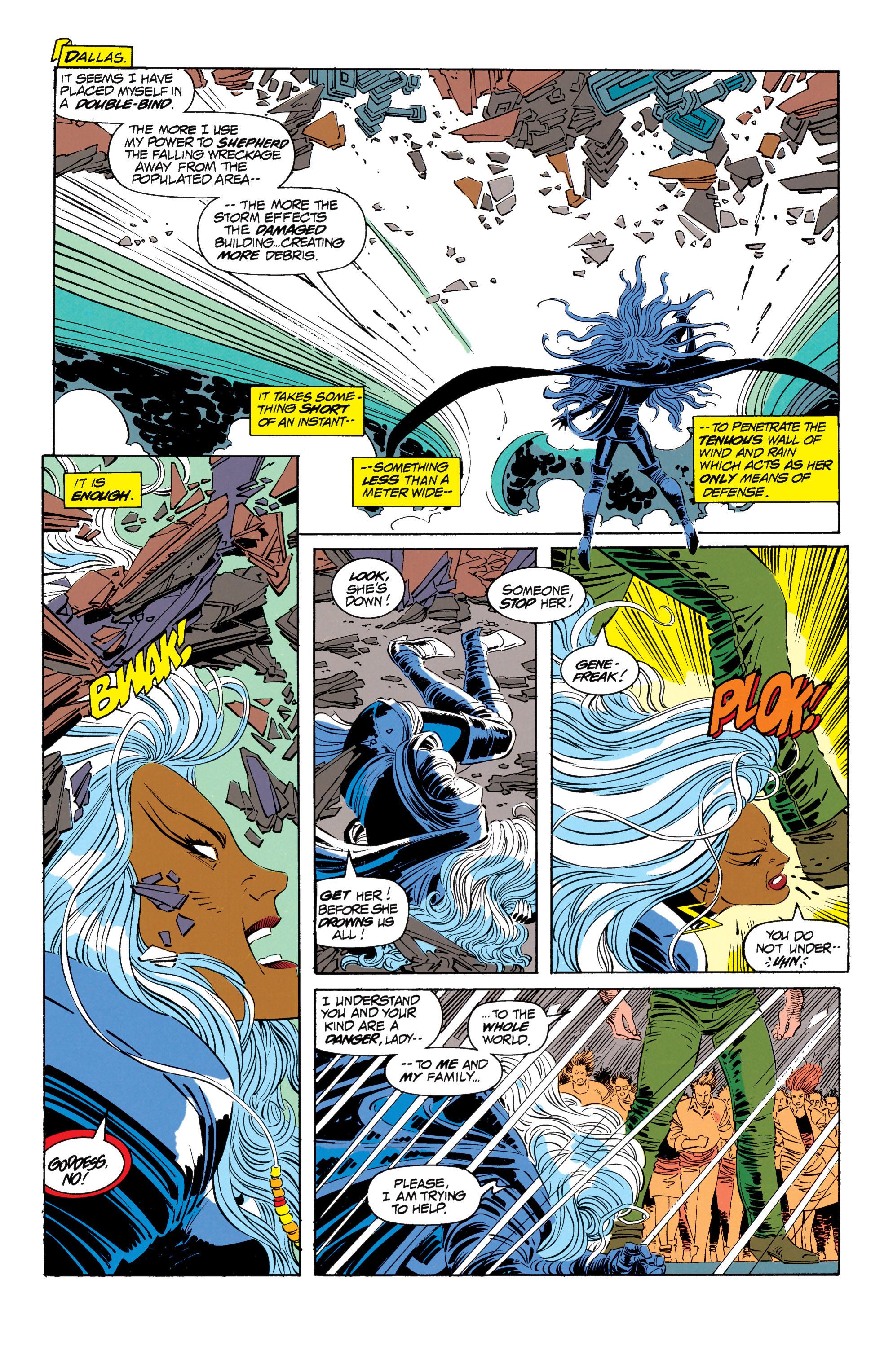 Read online Uncanny X-Men (1963) comic -  Issue #302 - 8