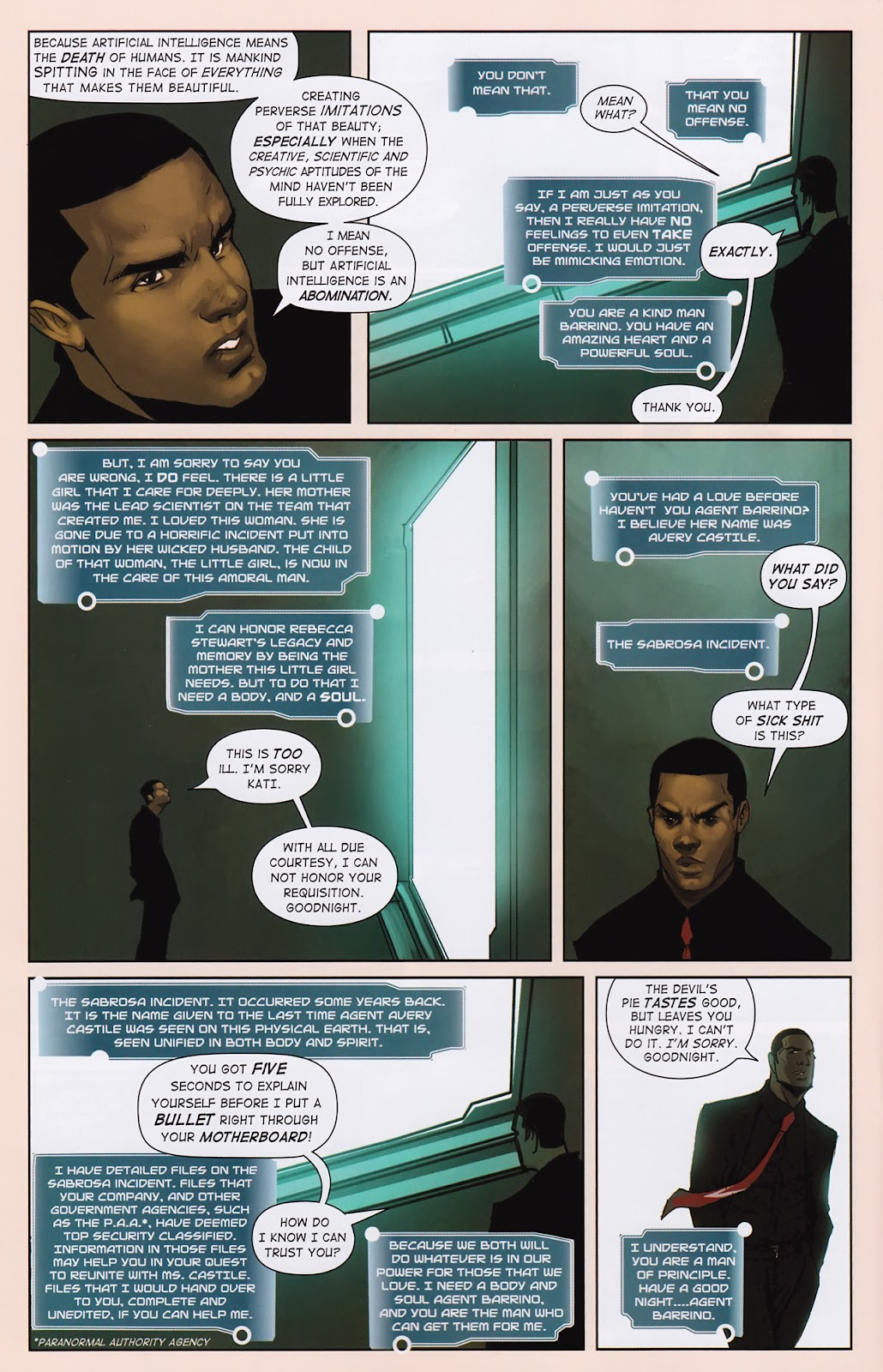 Read online Vescell comic -  Issue #2 - 22