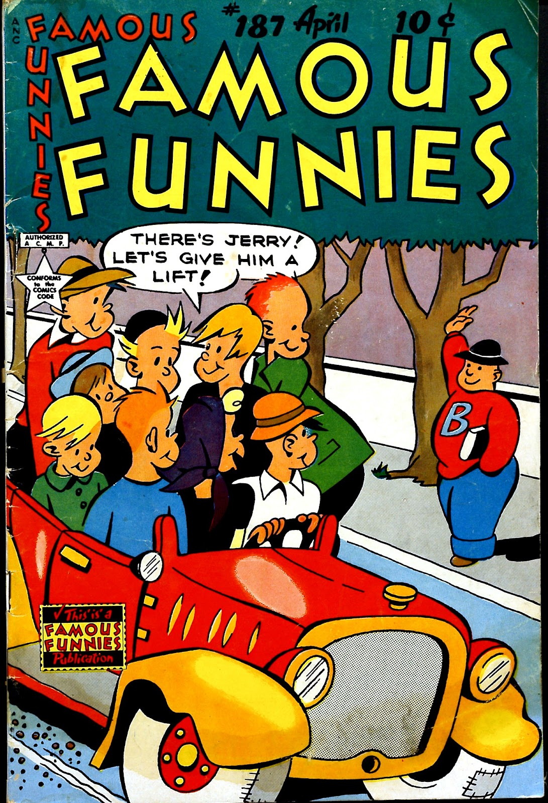 Read online Famous Funnies comic -  Issue #187 - 1