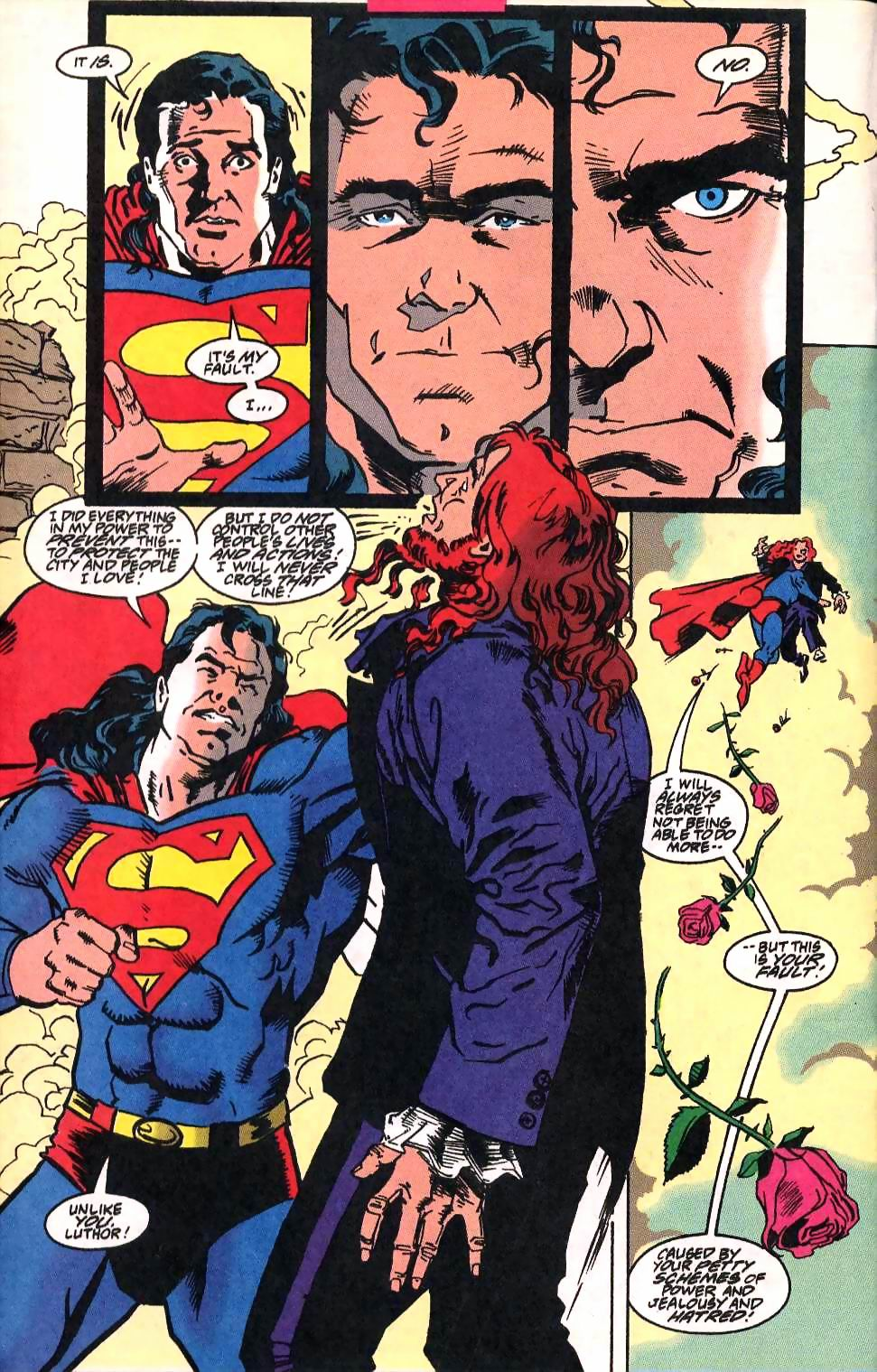 Read online Adventures of Superman (1987) comic -  Issue #514 - 17