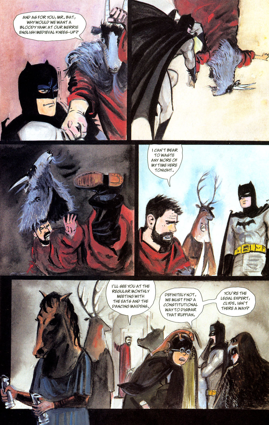 Read online Batman: The Order of Beasts comic -  Issue # Full - 31