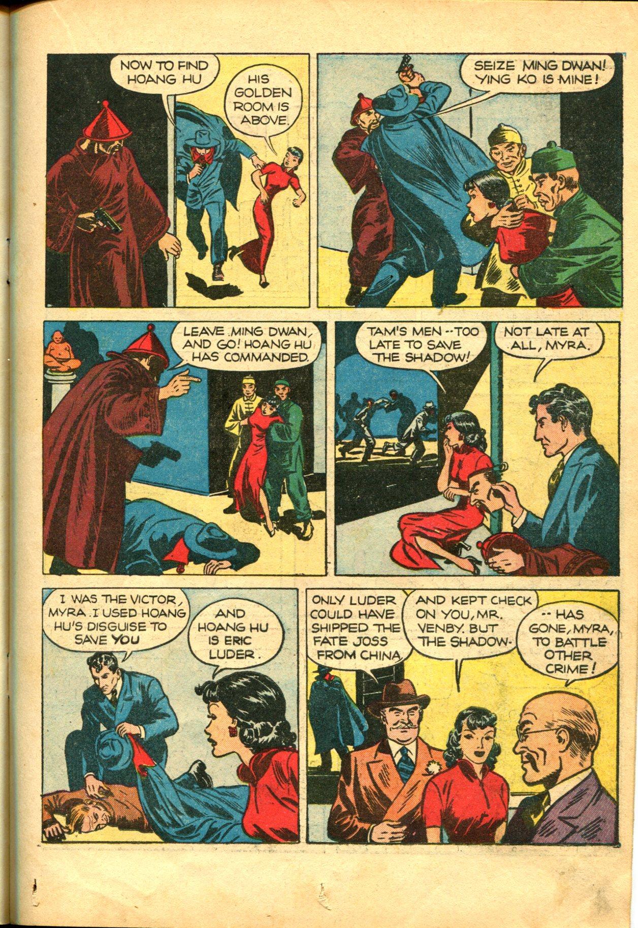 Read online Shadow Comics comic -  Issue #10 - 27