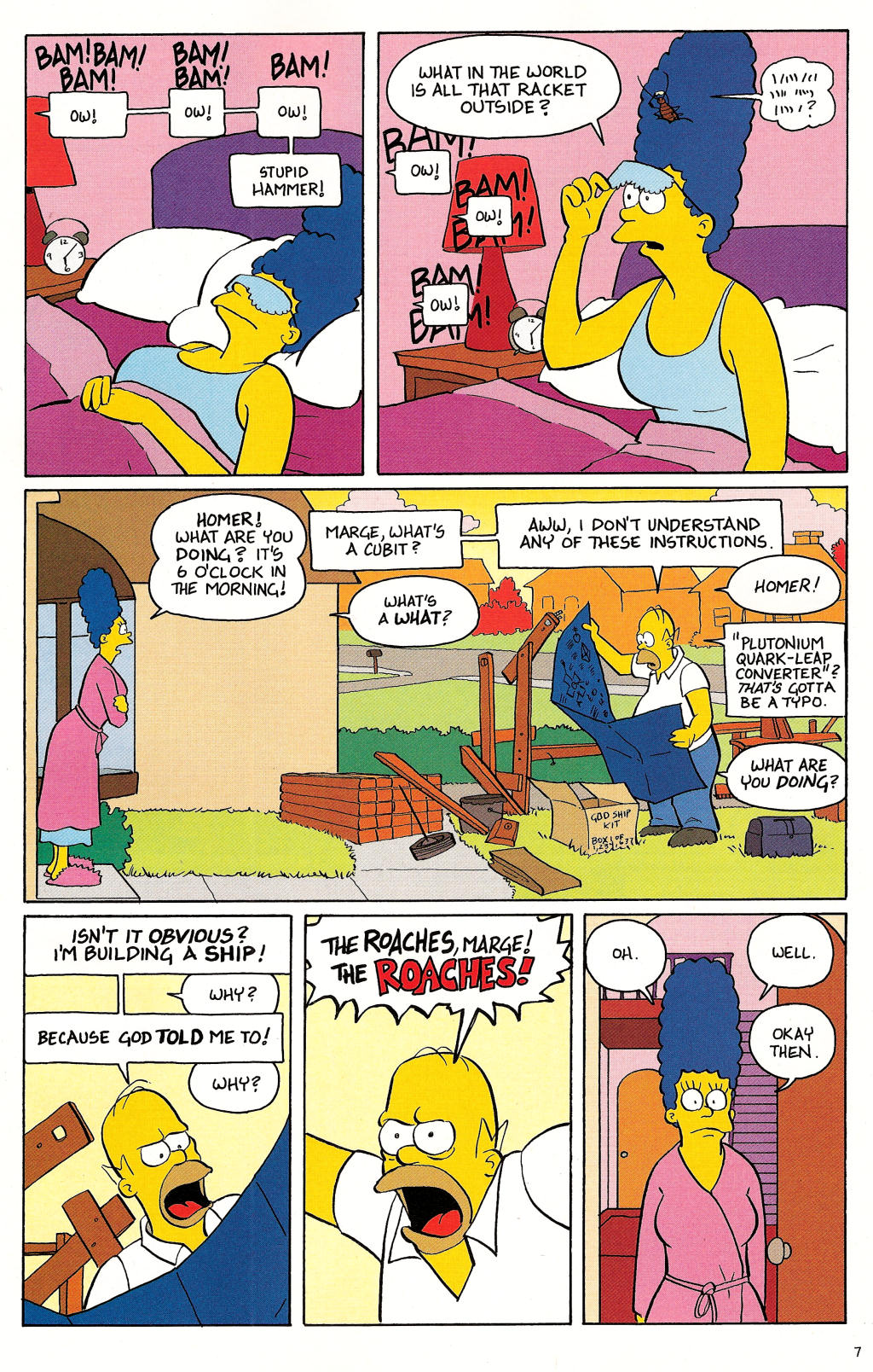 Read online Treehouse of Horror comic -  Issue #12 - 9