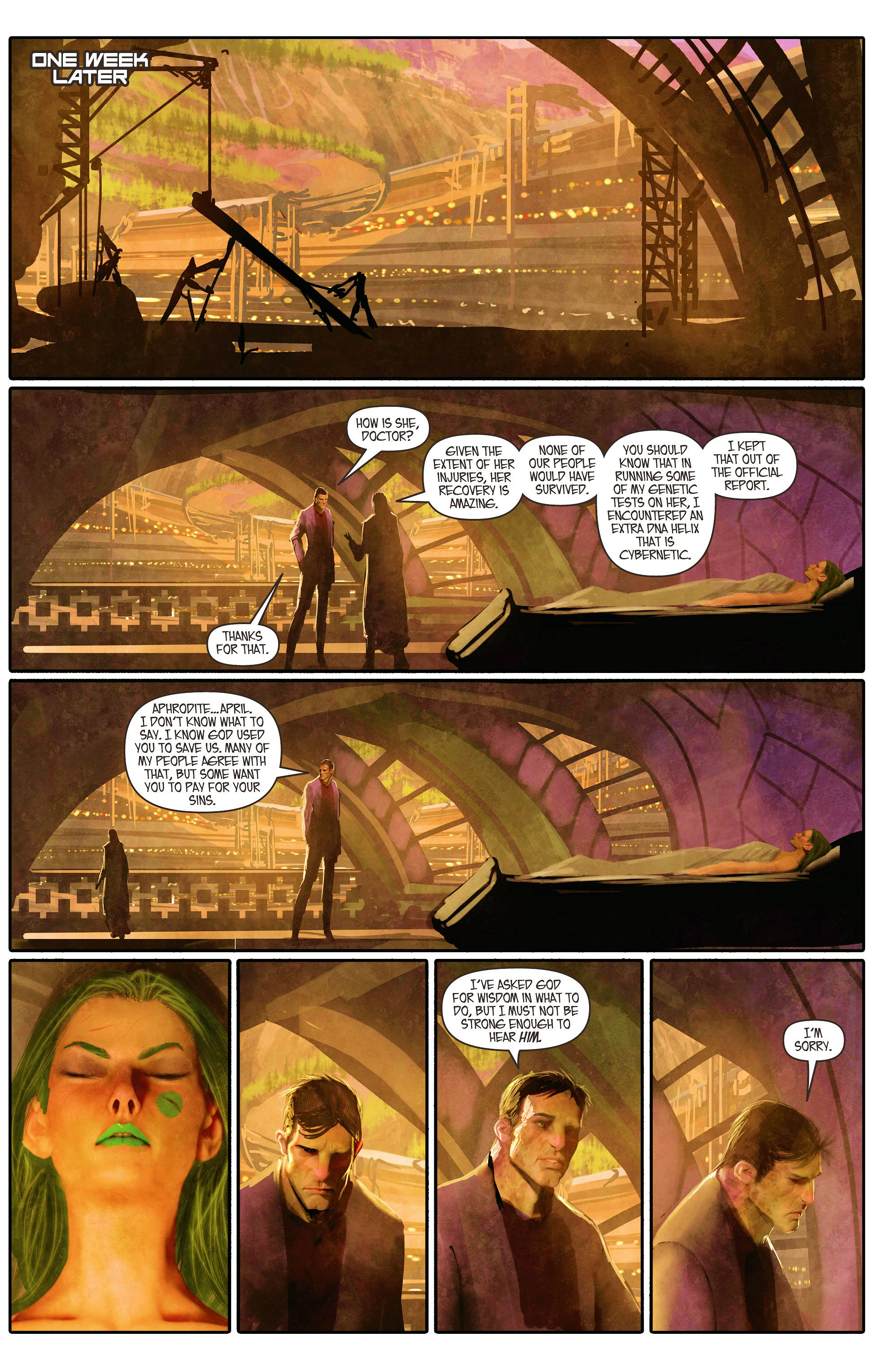 Read online Aphrodite IX (2013) comic -  Issue #5 - 16