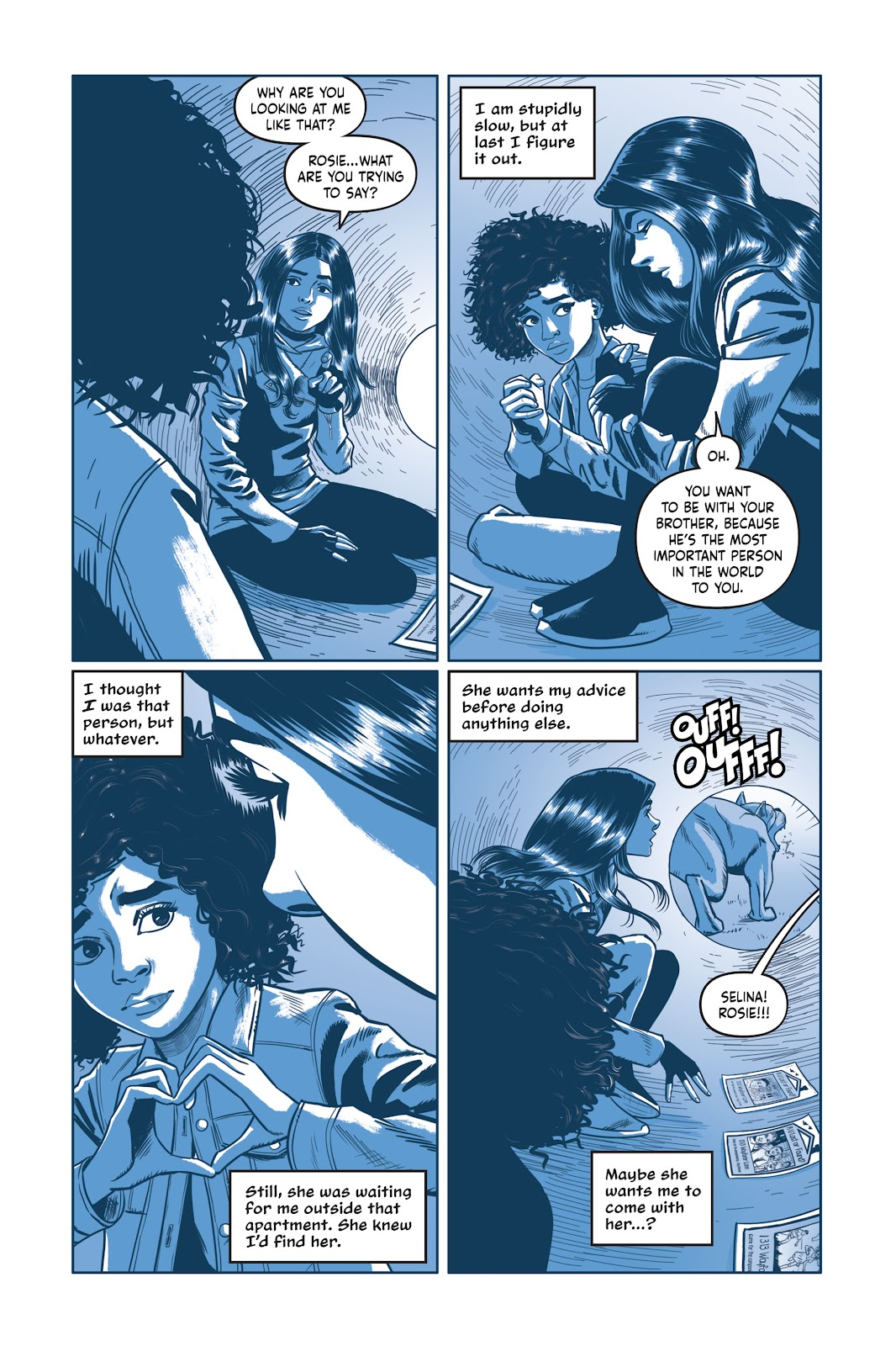 Read online Under the Moon: A Catwoman Tale comic -  Issue # TPB (Part 2) - 82