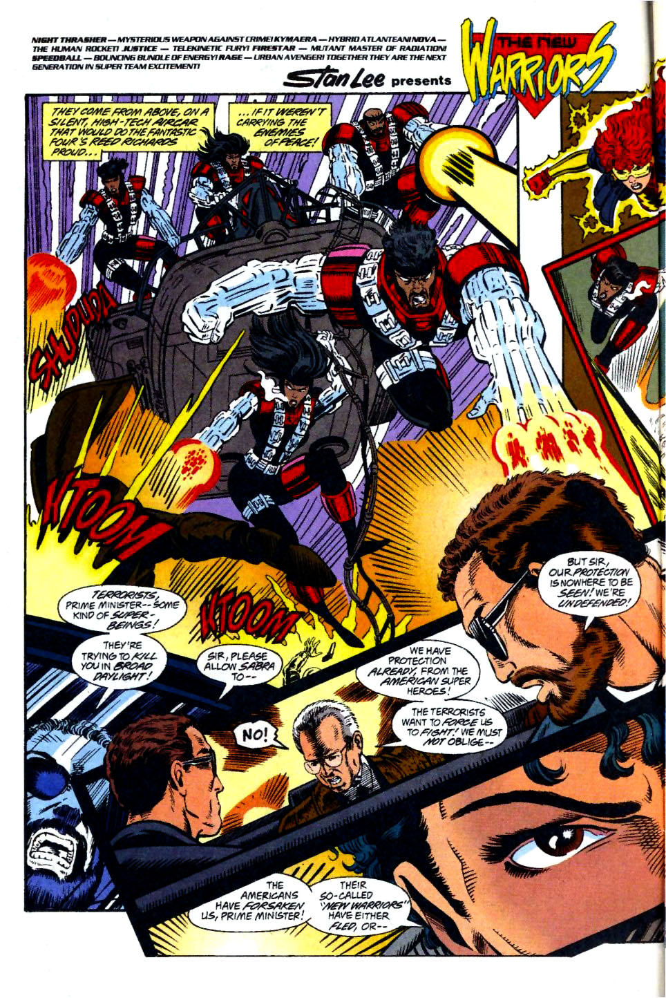 The New Warriors Issue #58 #62 - English 3
