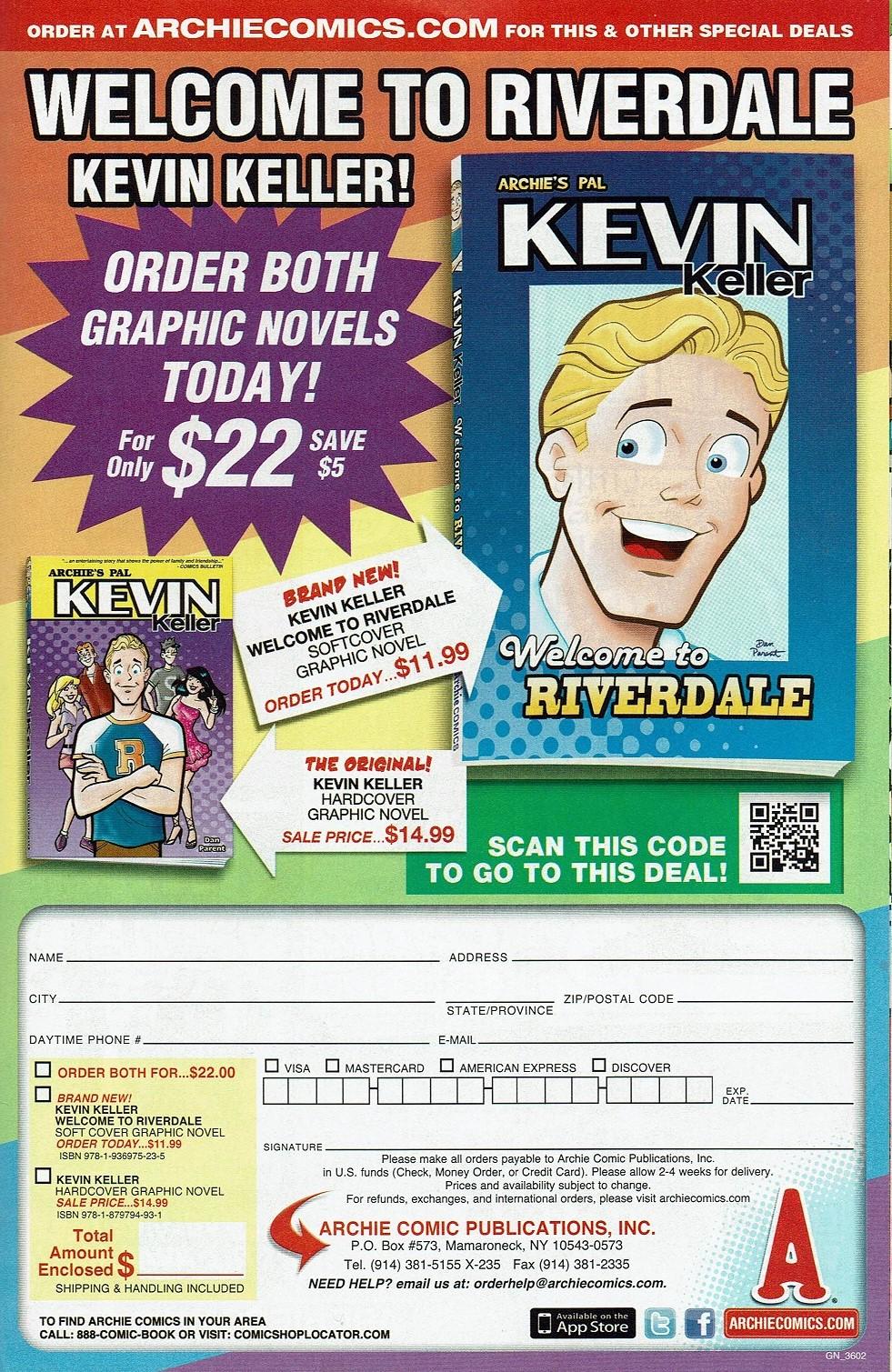 Read online Kevin Keller comic -  Issue #9 - 26