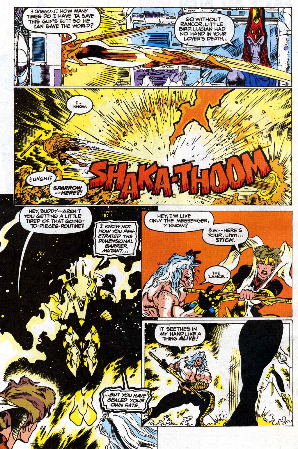 Read online Blackwulf comic -  Issue #9 - 18