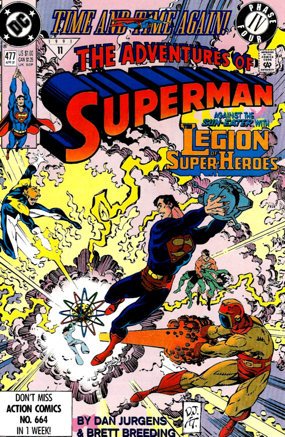 Read online Adventures of Superman (1987) comic -  Issue #477 - 1