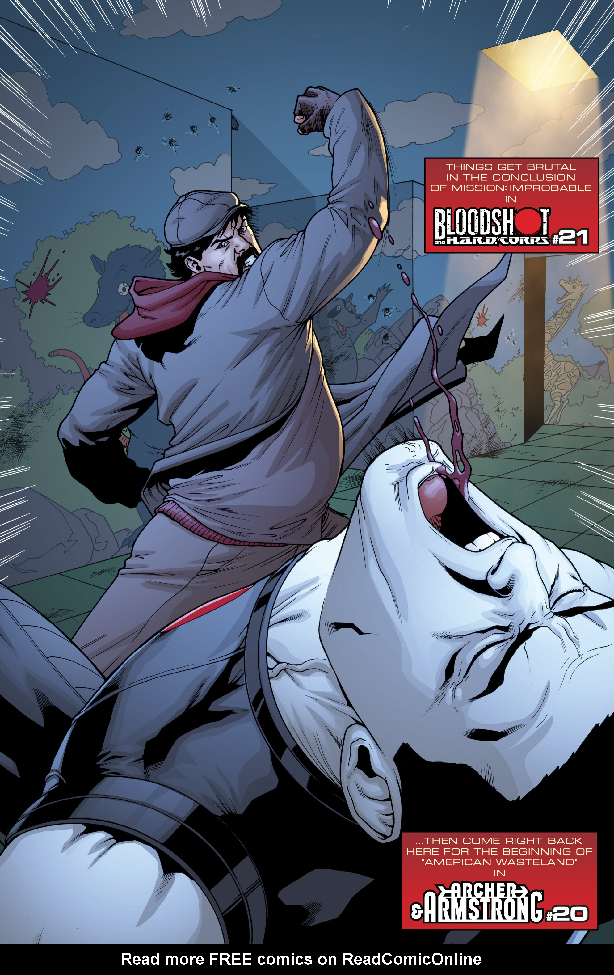Read online Archer and Armstrong comic -  Issue #Archer and Armstrong _TPB 5 - 99