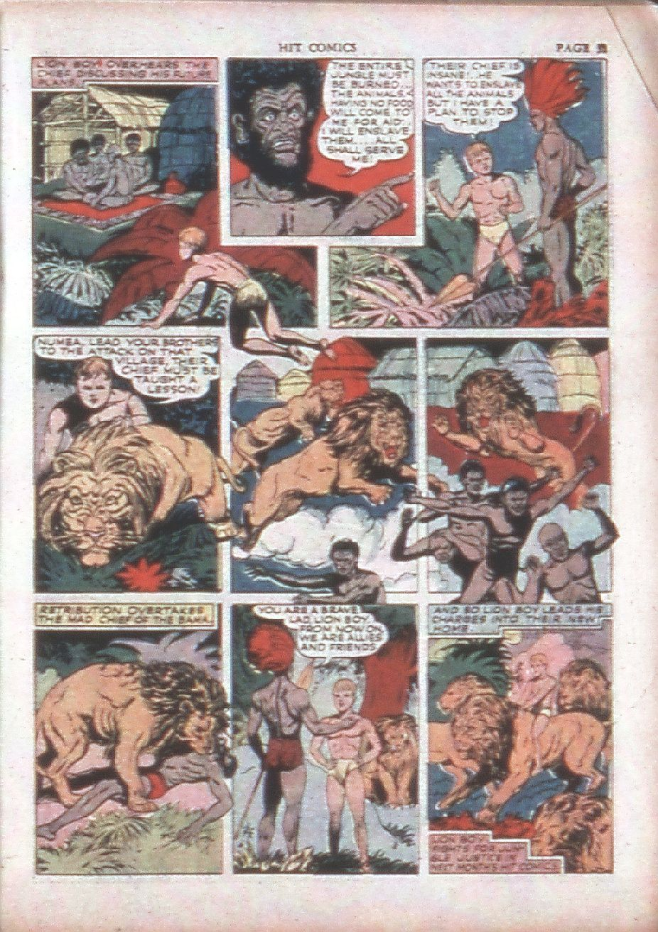 Read online Hit Comics comic -  Issue #15 - 33