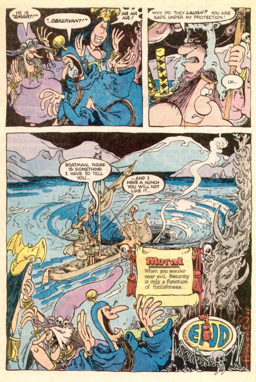 Read online Sergio Aragonés Groo the Wanderer comic -  Issue #21 - 23