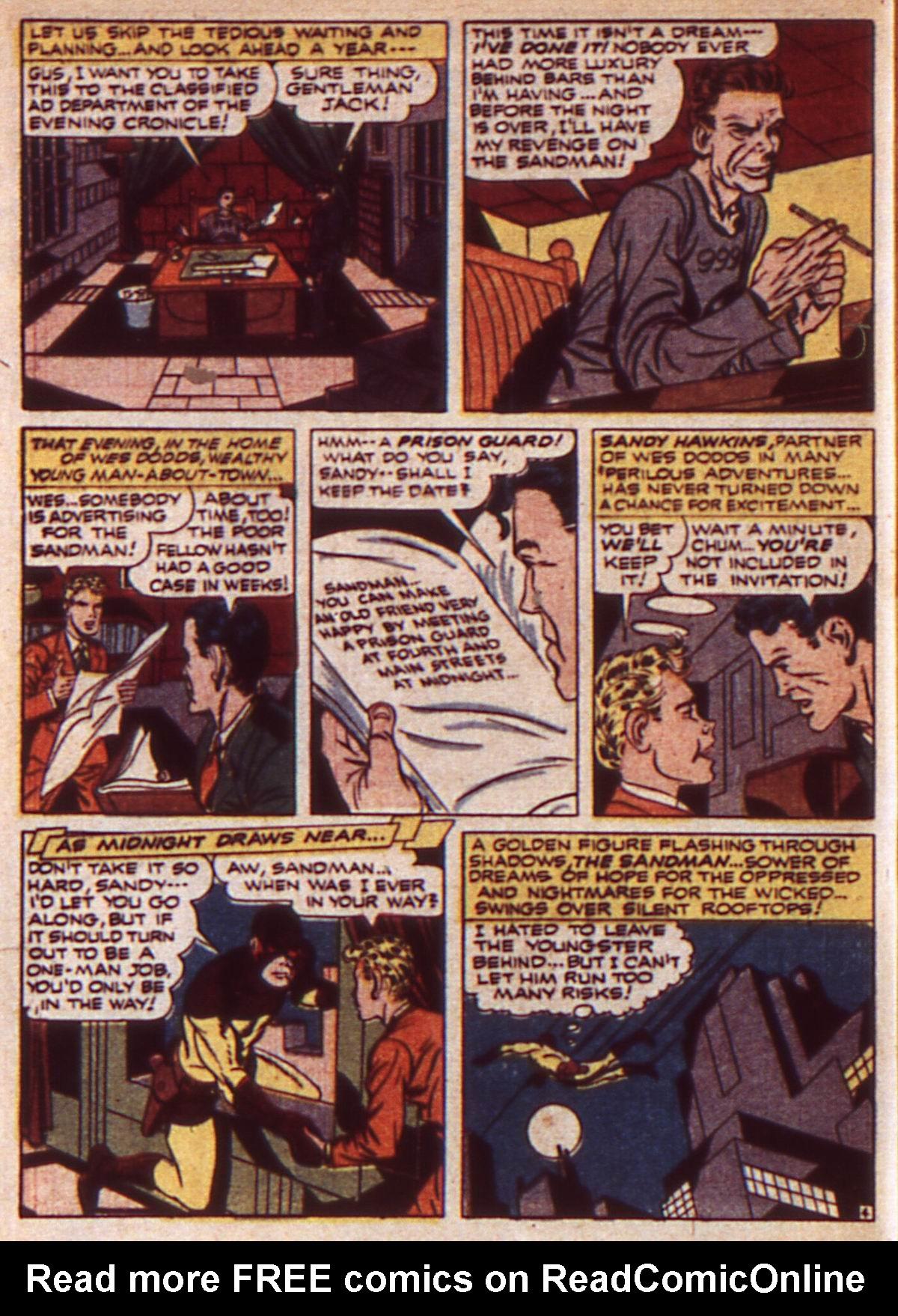 Read online Adventure Comics (1938) comic -  Issue #85 - 6