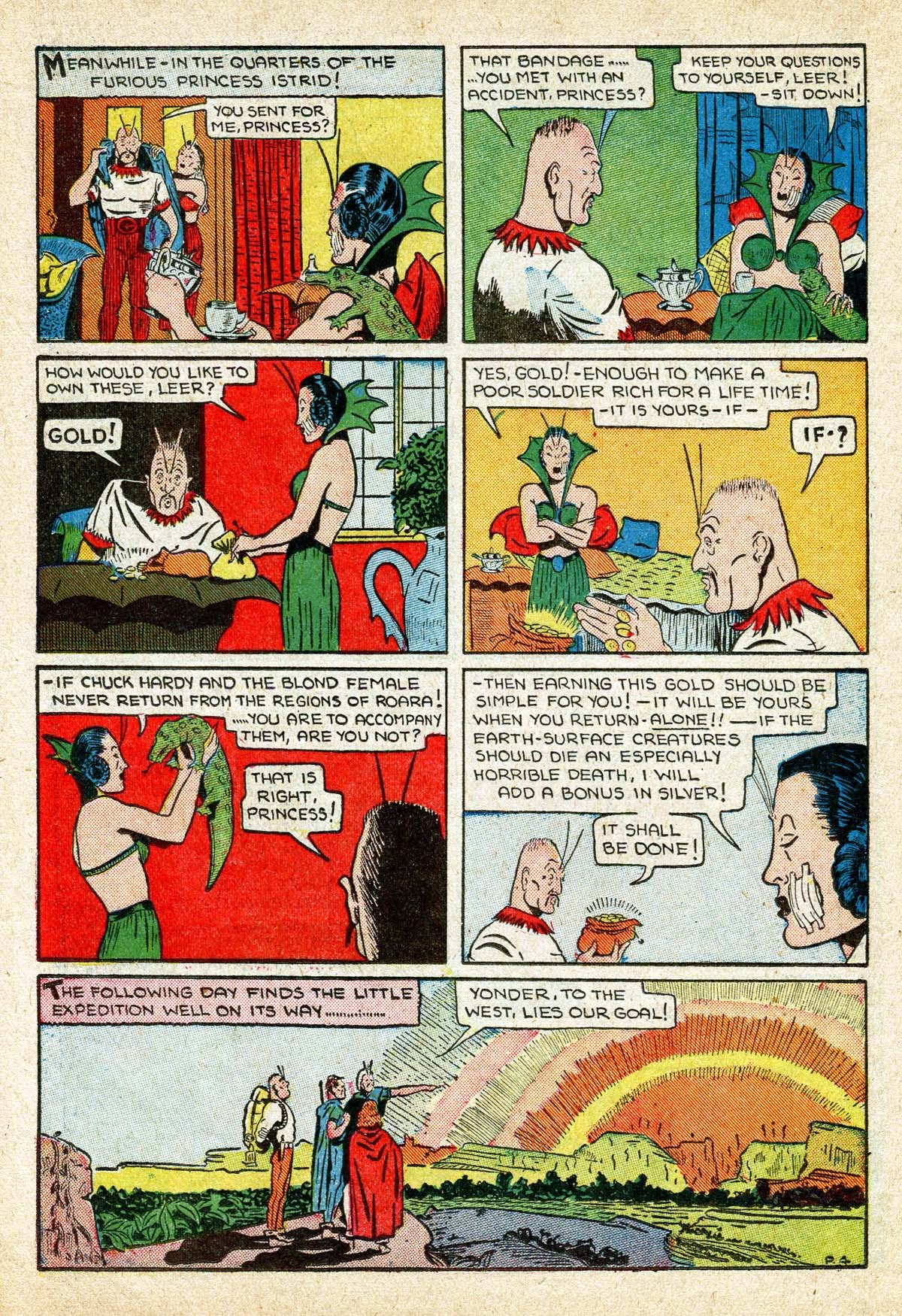 Read online Amazing Man Comics comic -  Issue #8 - 48