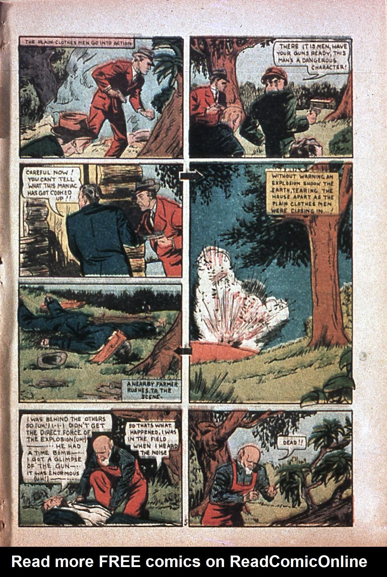 Read online Amazing Man Comics comic -  Issue #7 - 64