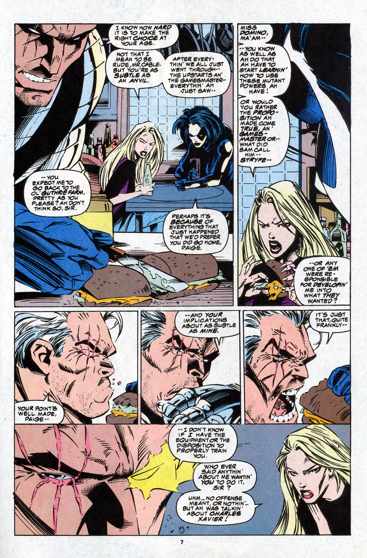 Read online X-Force (1991) comic -  Issue #34 - 9