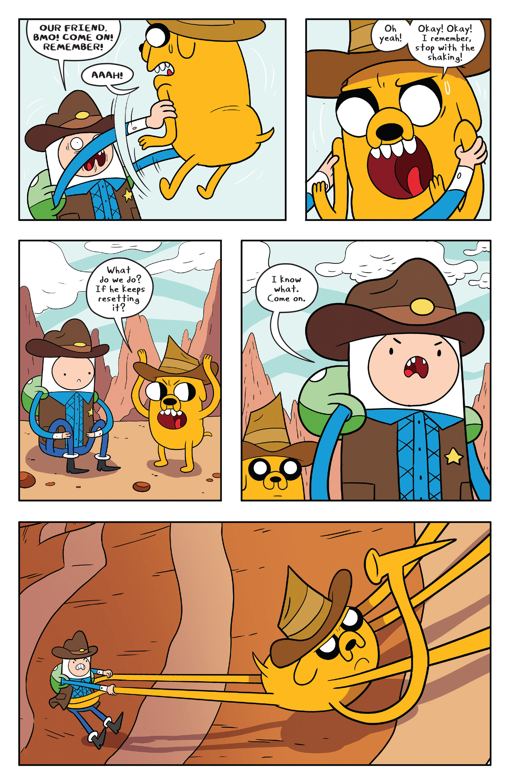 Read online Adventure Time comic -  Issue #56 - 23
