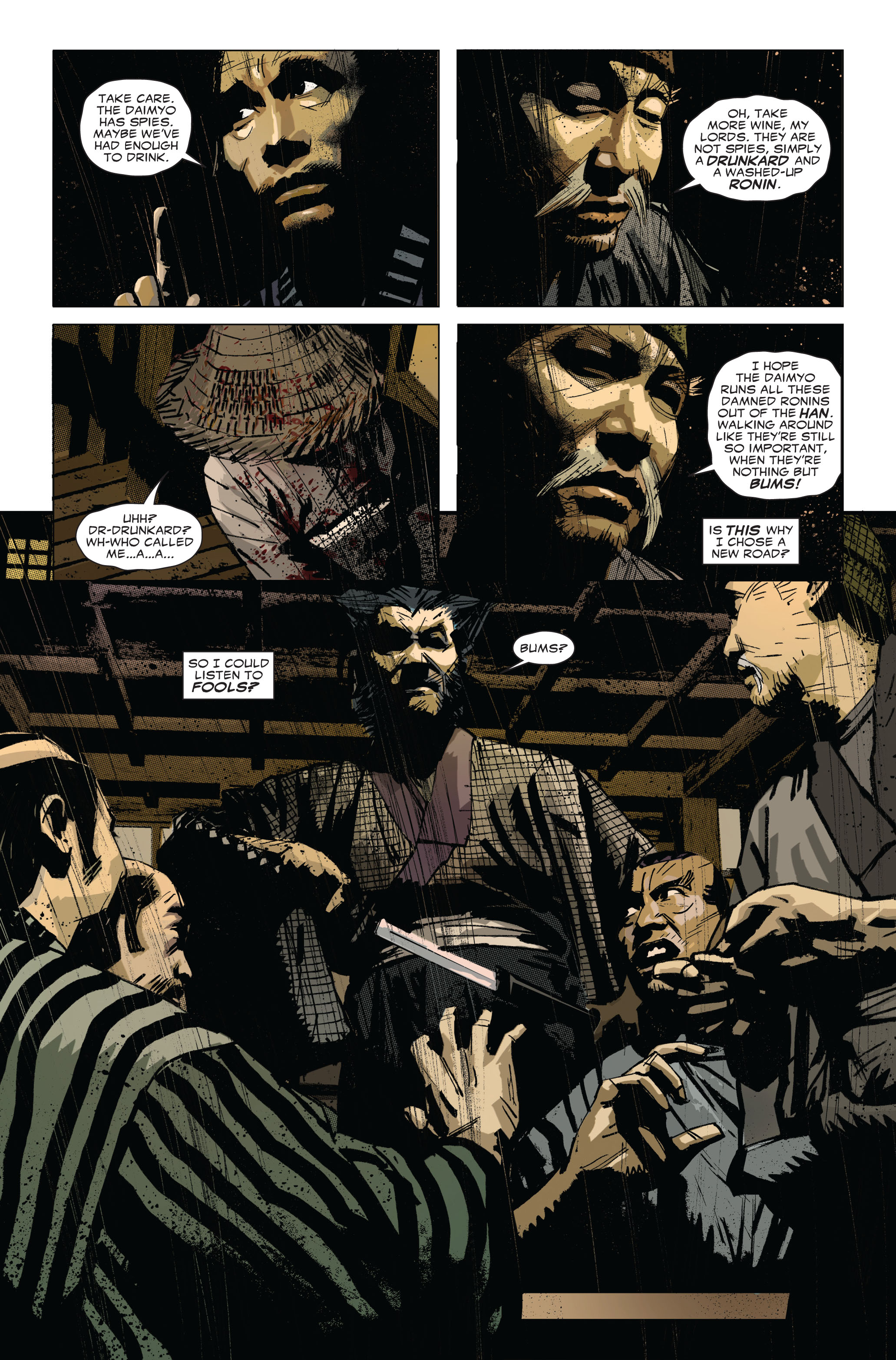 Read online 5 Ronin (2011) comic -  Issue #1 - 11