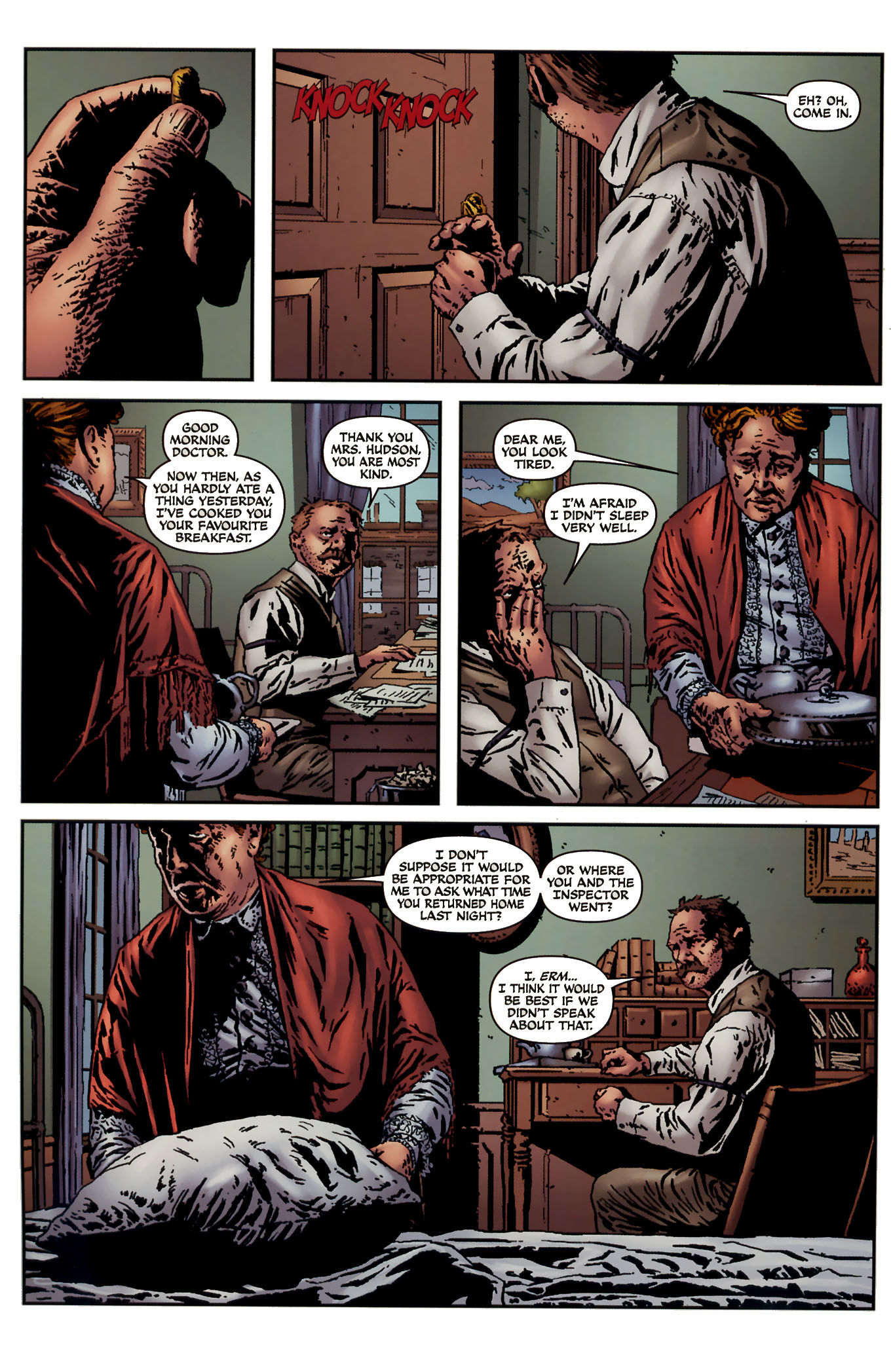 Read online Sherlock Holmes (2009) comic -  Issue #3 - 4