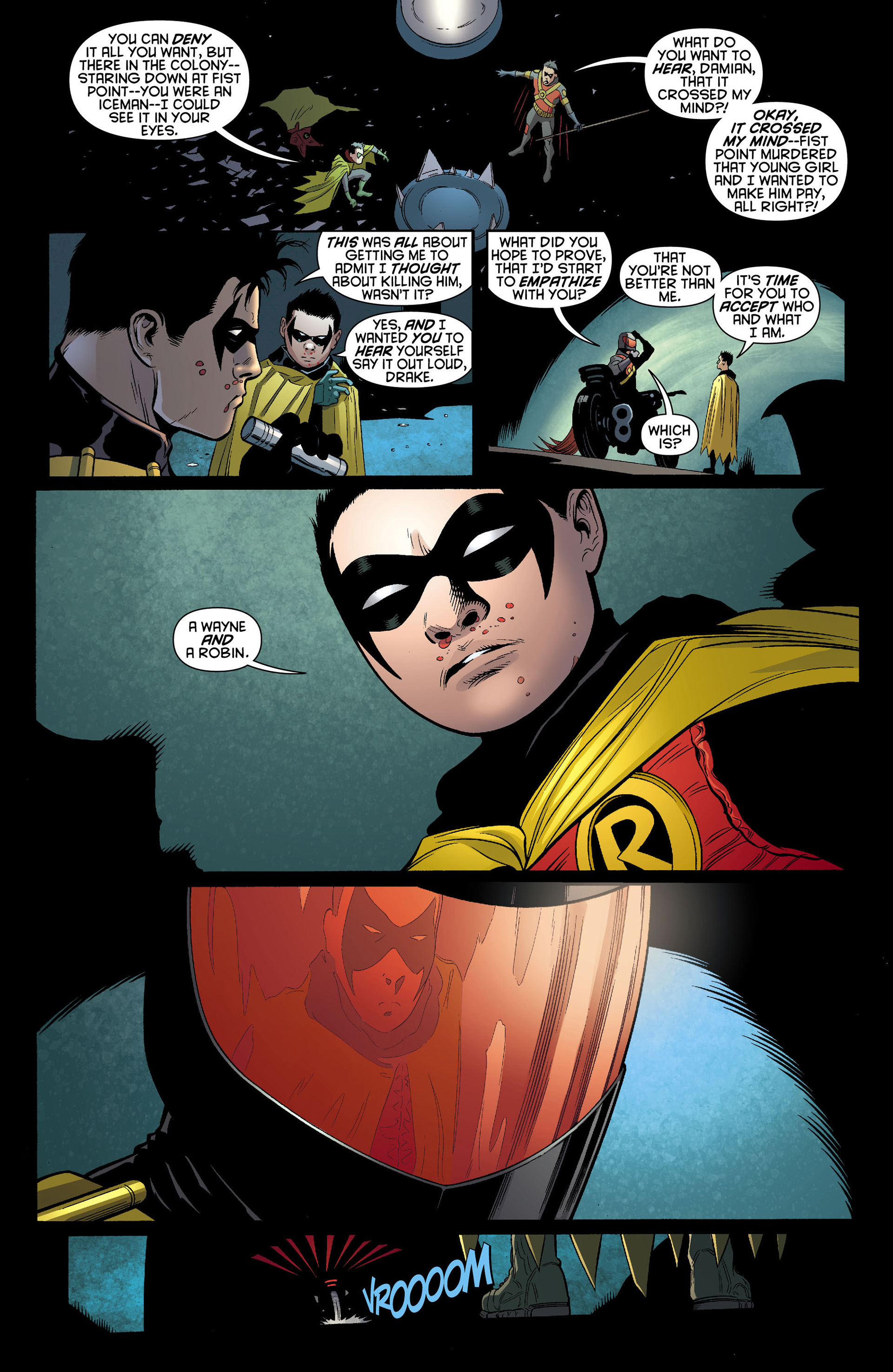 Read online Batman and Robin (2011) comic -  Issue #10 - 19