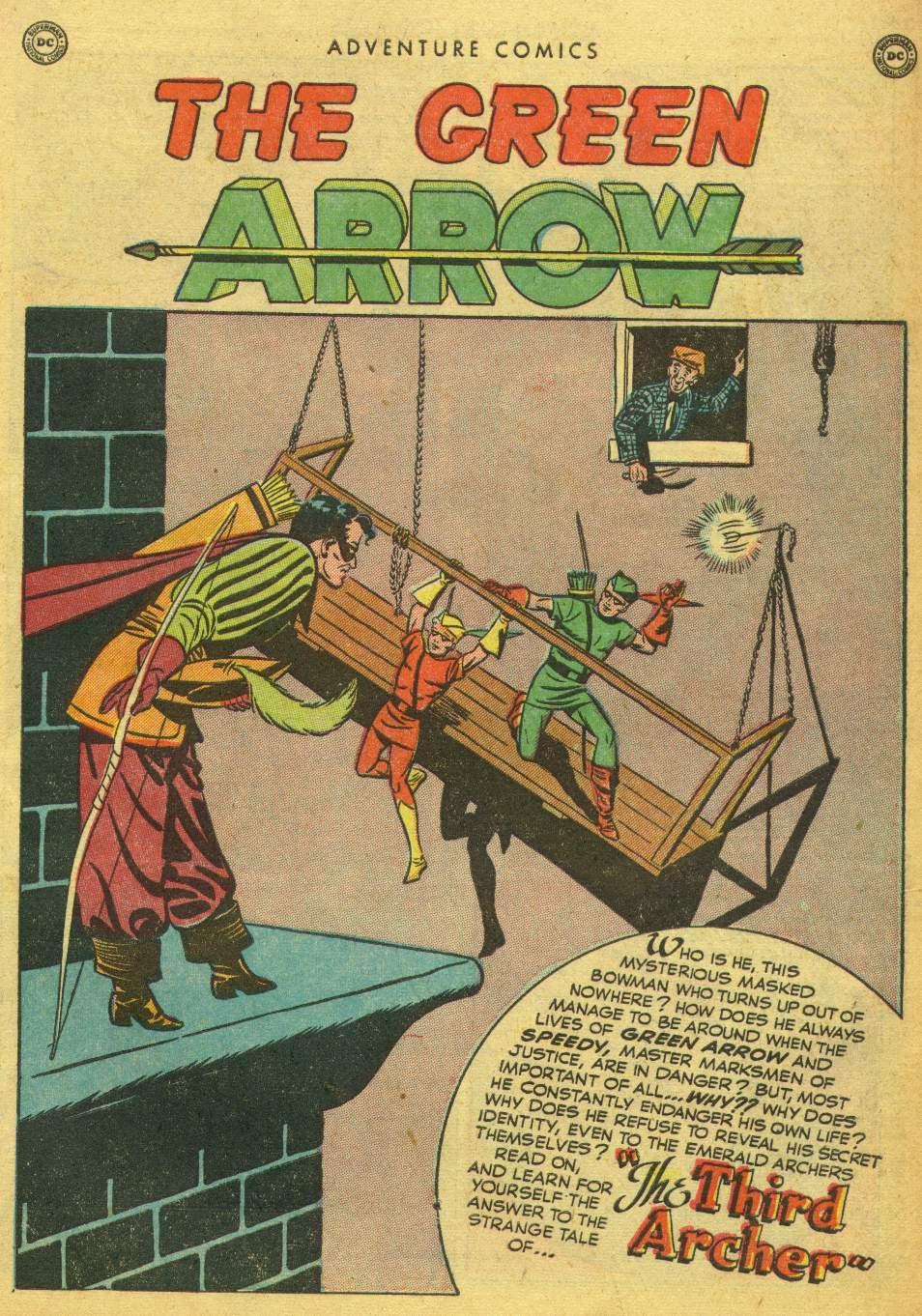 Read online Adventure Comics (1938) comic -  Issue #162 - 39