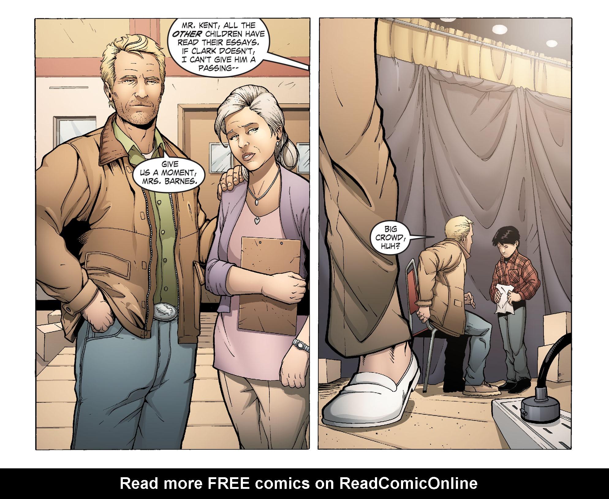 Read online Smallville: Alien comic -  Issue #1 - 4