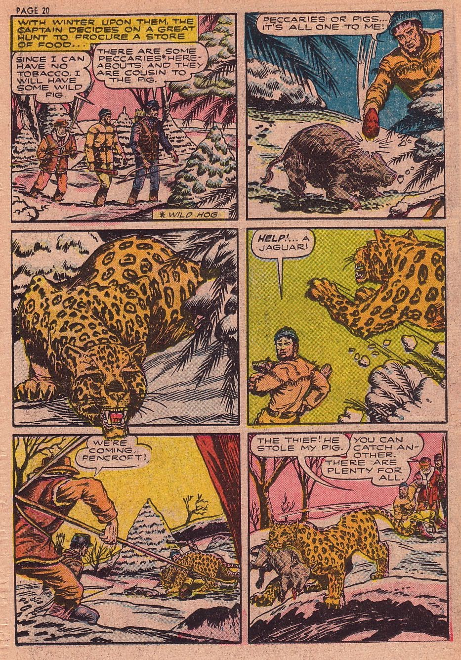 Classics Illustrated issue 34 - Page 19