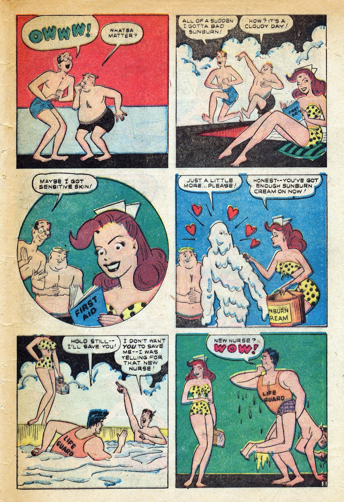 Read online Nellie The Nurse (1945) comic -  Issue #20 - 45