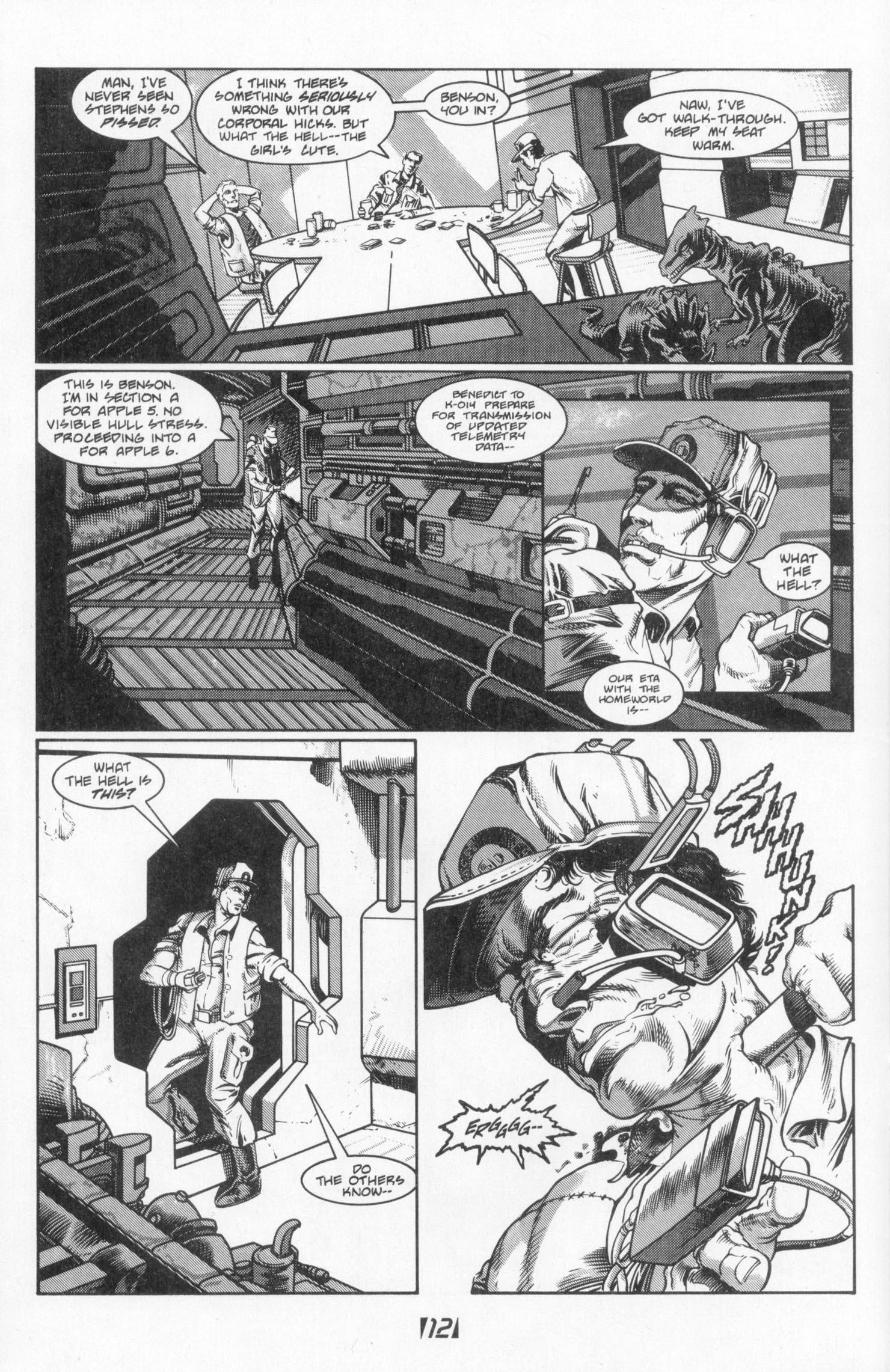 Read online Aliens (1988) comic -  Issue #3 - 16