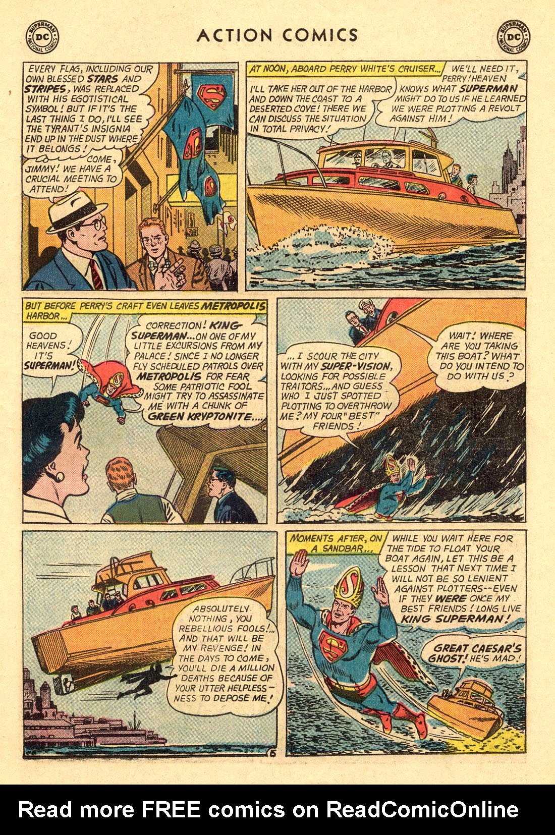 Read online Action Comics (1938) comic -  Issue #312 - 7