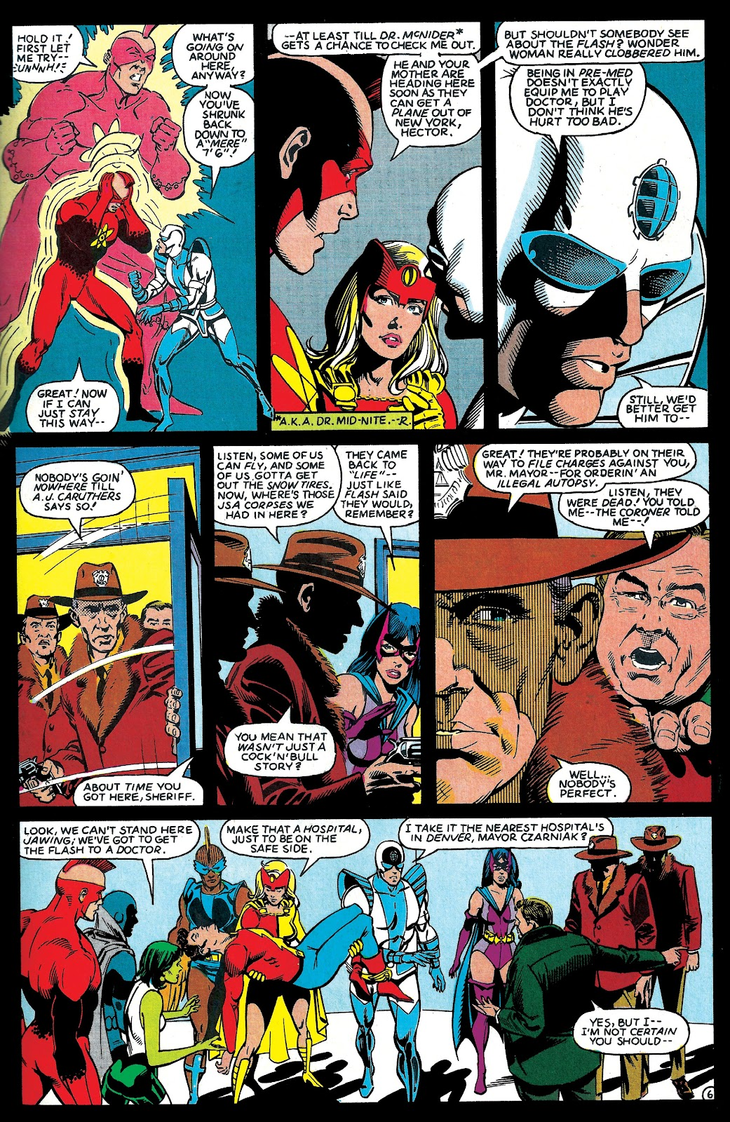 Infinity Inc. (1984) issue 6 - Page 7