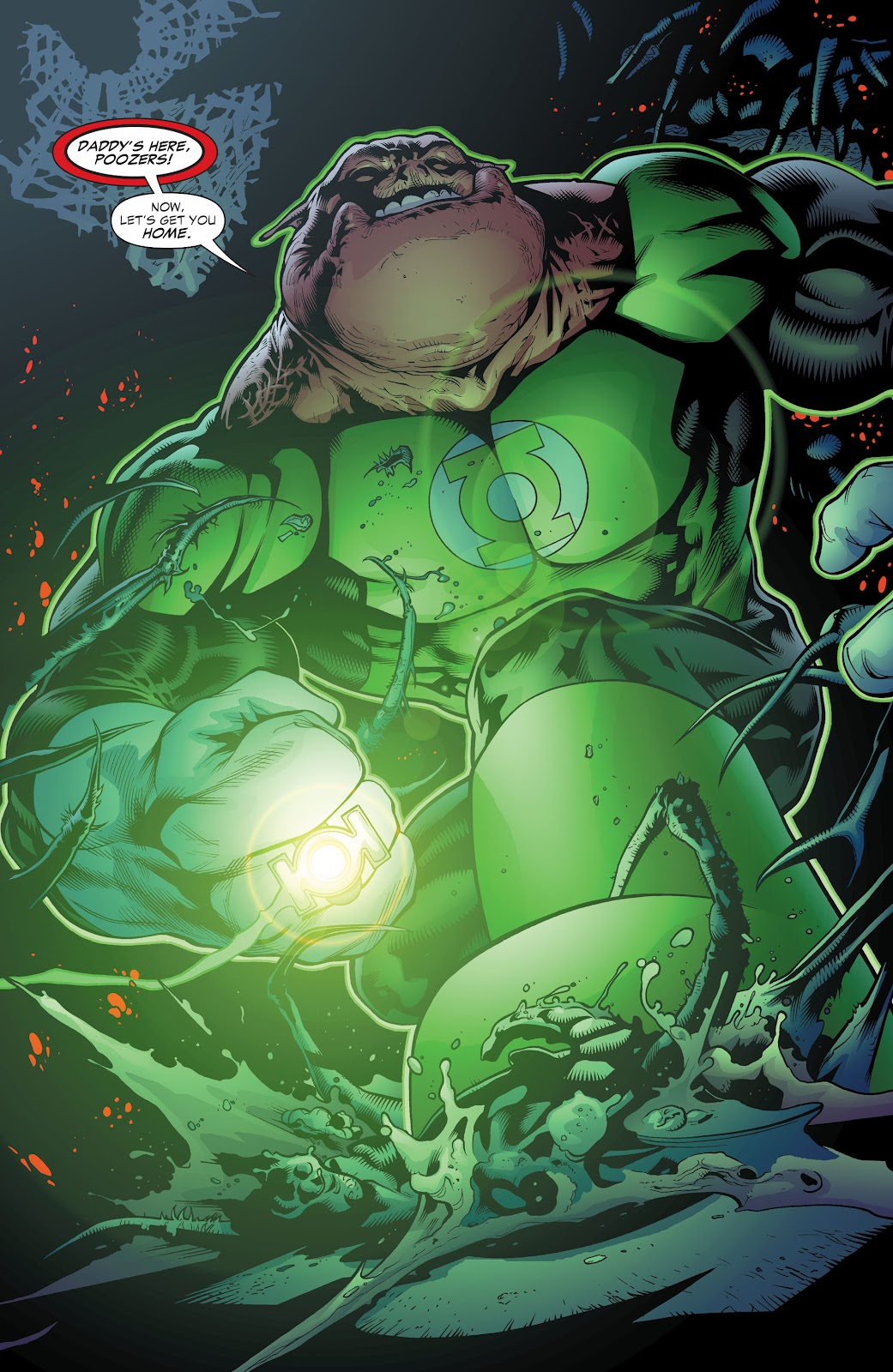 Read online Green Lantern by Geoff Johns comic -  Issue # TPB 1 (Part 3) - 34