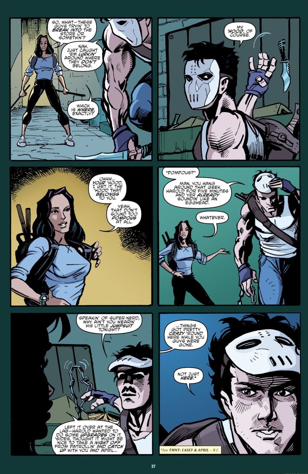 Read online Teenage Mutant Ninja Turtles: The IDW Collection comic -  Issue # TPB 7 (Part 1) - 37
