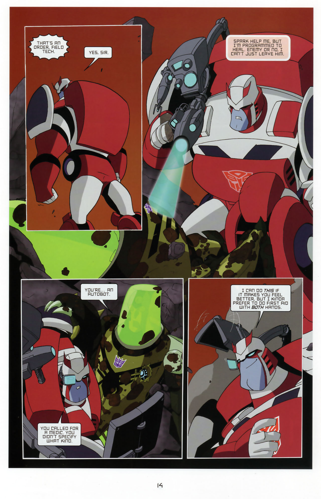 Read online Transformers Animated: The Arrival comic -  Issue #3 - 16