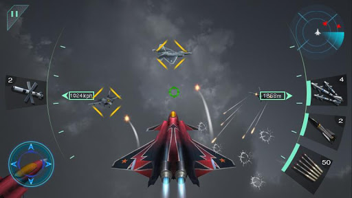 Sky Fighters 3D Hack Cho Android