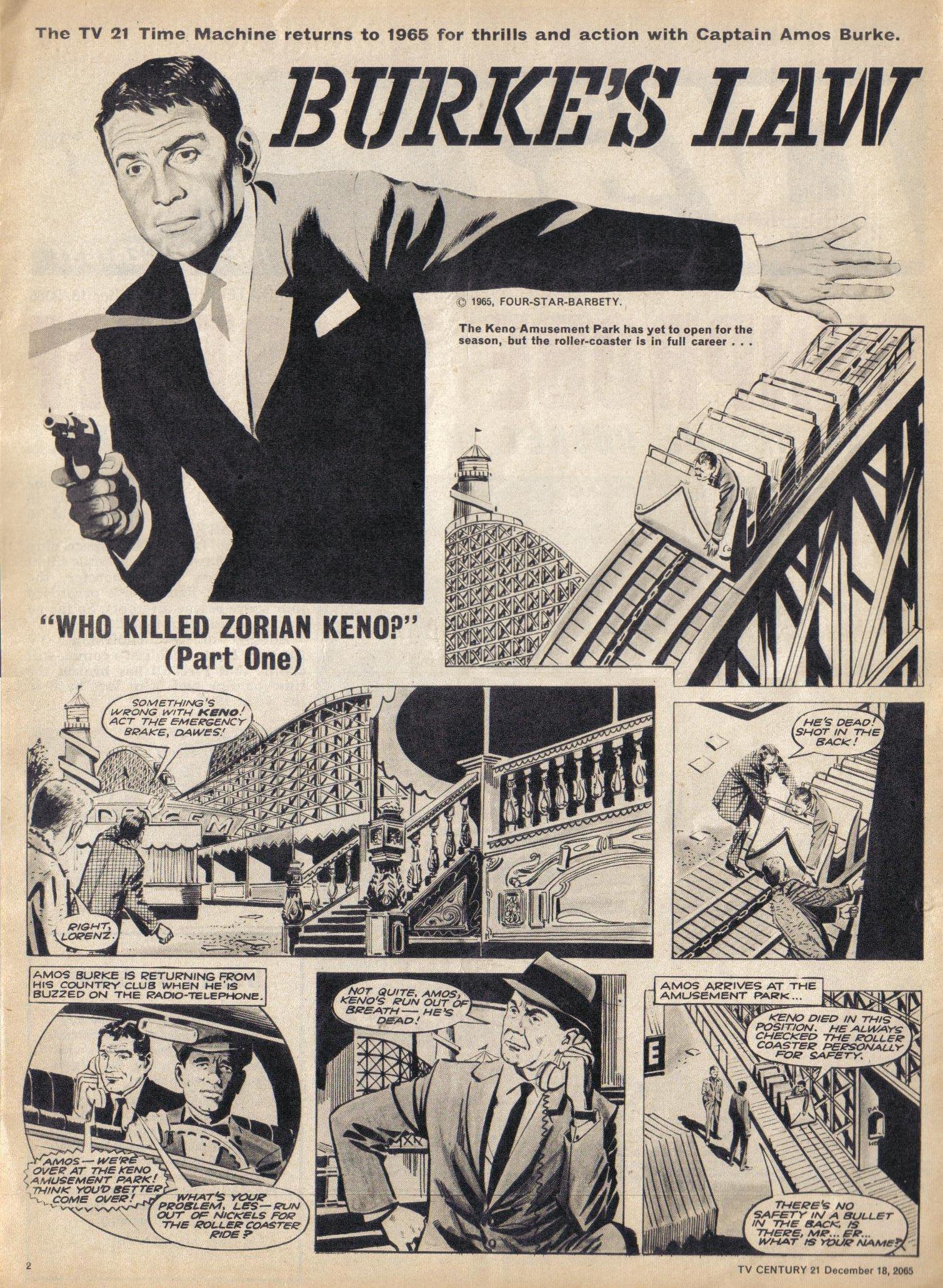 Read online TV Century 21 (TV 21) comic -  Issue #48 - 2