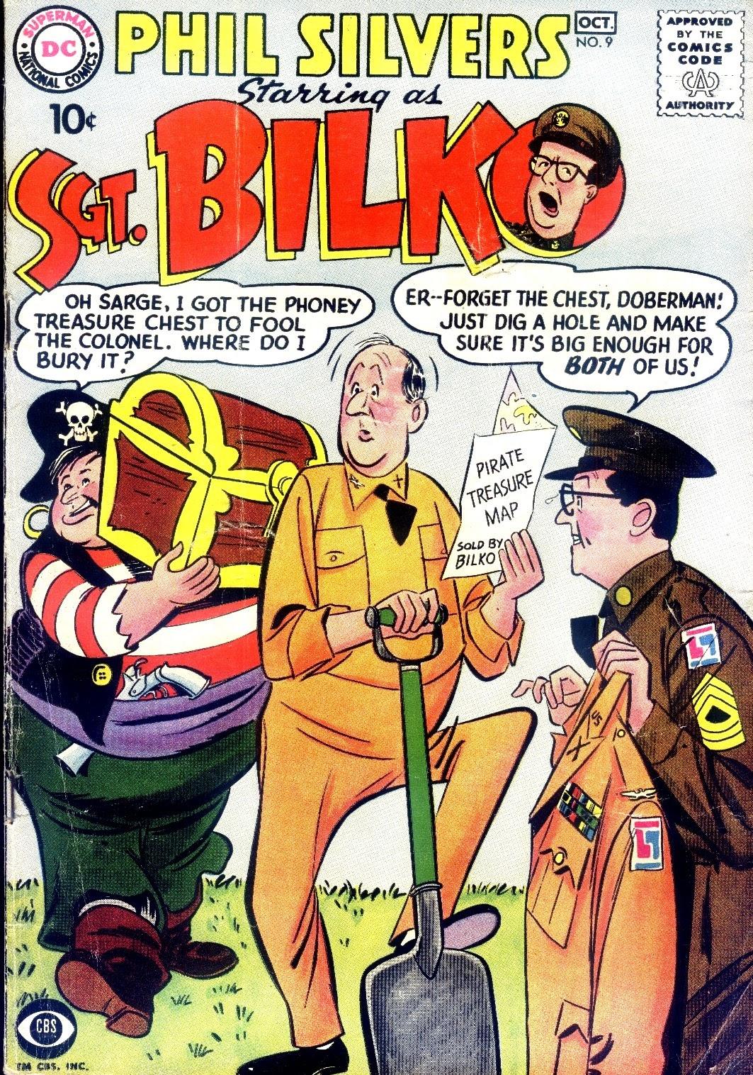 Sergeant Bilko issue 9 - Page 1