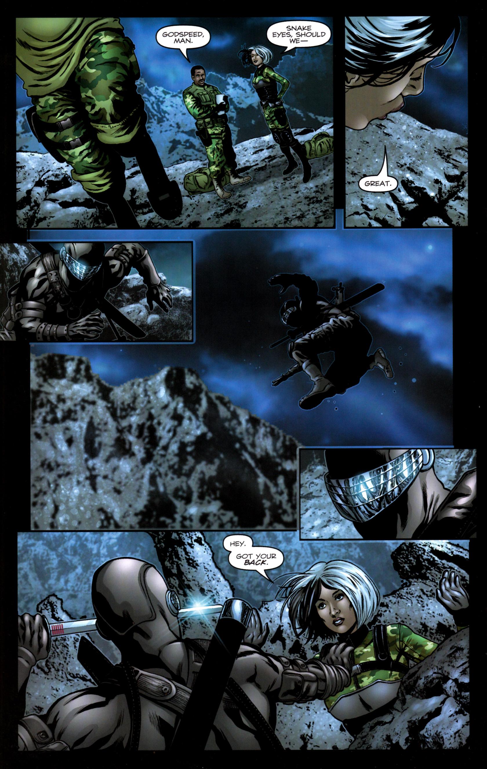 Read online G.I. Joe: Snake Eyes comic -  Issue #9 - 17