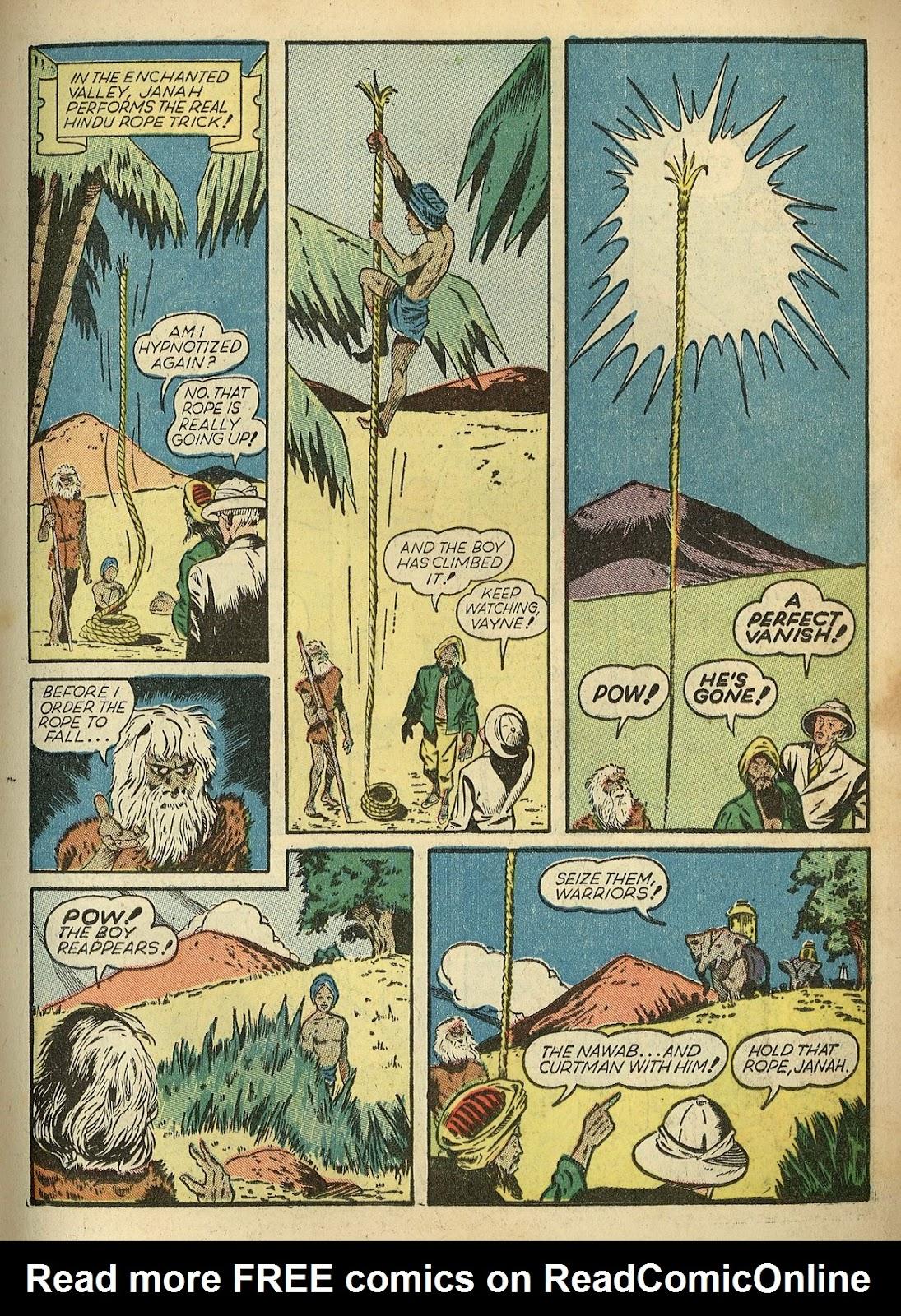 Read online Super-Magician Comics comic -  Issue #1 - 27
