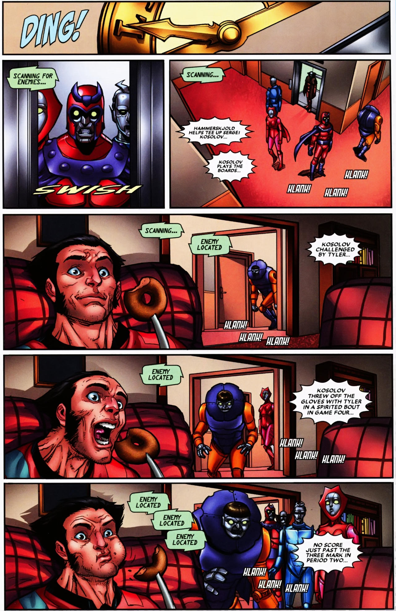 Read online Wolverine: First Class comic -  Issue #6 - 13