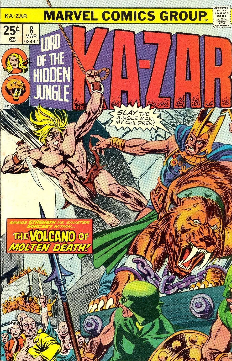 Ka-Zar (1974) issue 8 - Page 1