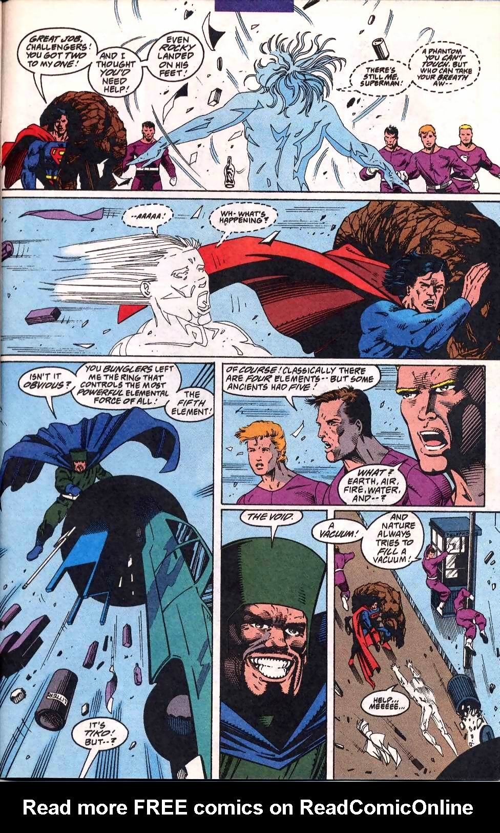 Read online Adventures of Superman (1987) comic -  Issue #508 - 21