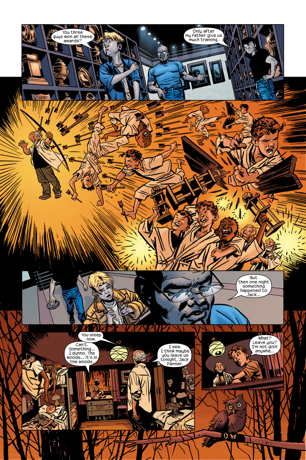 Read online Ultimate Adventures comic -  Issue #5 - 21