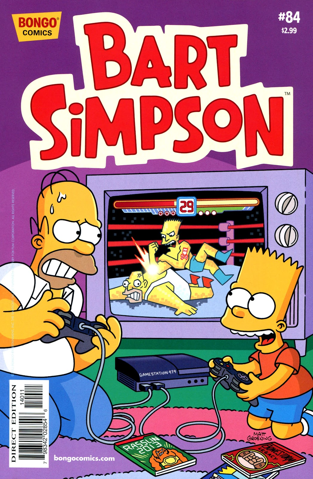 Simpsons Comics Presents Bart Simpson 84 Page 1