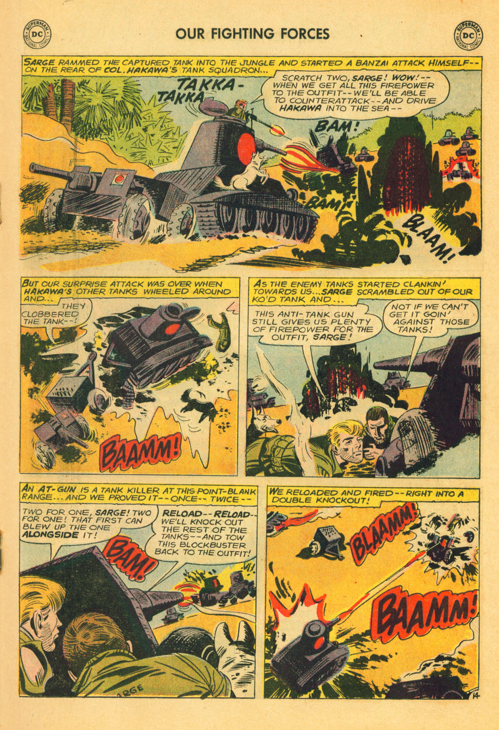 Our Fighting Forces (1954) issue 80 - Page 19