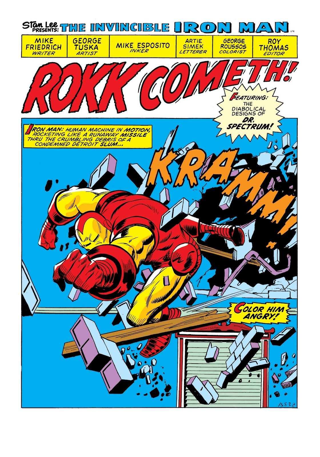 Read online Marvel Masterworks: The Invincible Iron Man comic -  Issue # TPB 9 (Part 3) - 15
