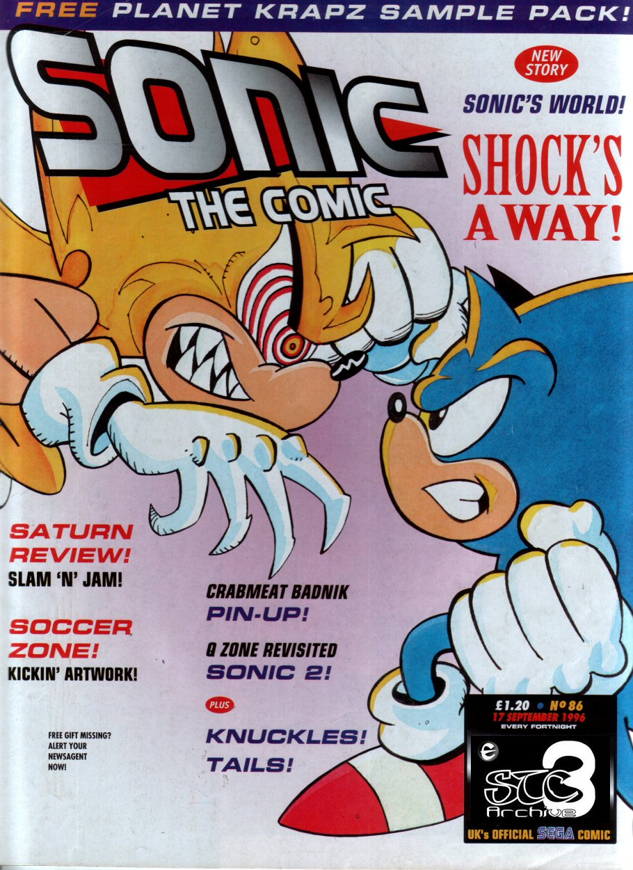 Read online Sonic the Comic comic -  Issue #86 - 1